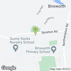 Map of G & E Plant & Machinery Hire in Brixworth, Northampton, northamptonshire