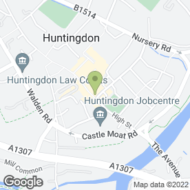 Map of Cambridge Crane Hire Ltd in Huntingdon