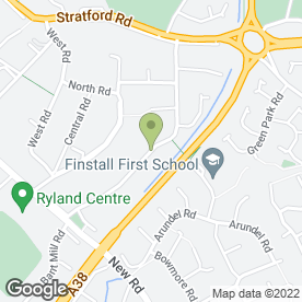 Map of Derek Charles Driving School in Bromsgrove, worcestershire