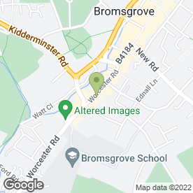 Map of The Gadget Clinic in Bromsgrove, worcestershire