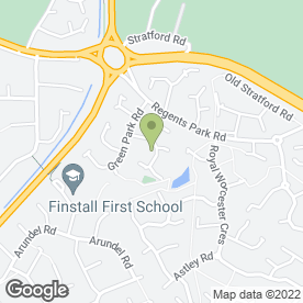 Map of DJ Carpentry in Bromsgrove, worcestershire