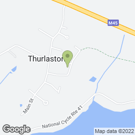 Map of Rugby Trailer Hire in Thurlaston, Rugby, warwickshire