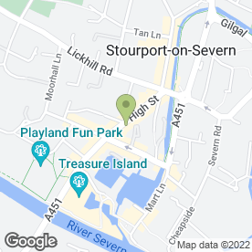 Map of B Beauty in Stourport-On-Severn, worcestershire