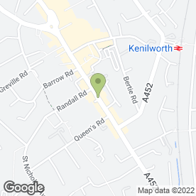 Map of Catering Waste Solutions Ltd in Kenilworth, warwickshire