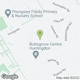 Map of GM Electrical Services in Huntingdon, cambridgeshire