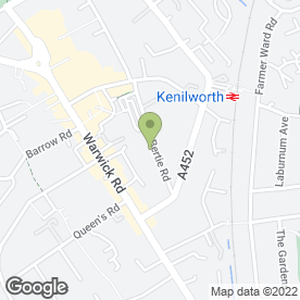 Map of Kenilworth Town Council in Kenilworth, warwickshire