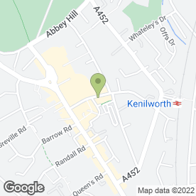 Map of HOUSE OF BEAUTY in Kenilworth, warwickshire