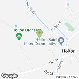 Map of Halesworth Taxi Service in Holton, Halesworth, suffolk