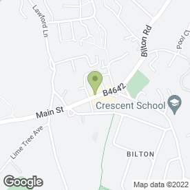 Map of Express Plant Ltd in Bilton, Rugby, warwickshire