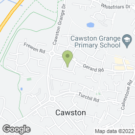 Map of Wendy Reevell in Cawston, Rugby, warwickshire