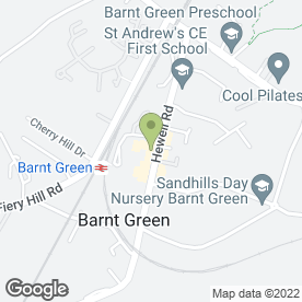 Map of Barnt Green Dental Centre Ltd in Barnt Green, Birmingham, west midlands