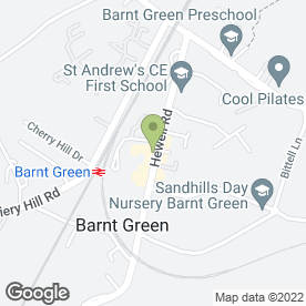 Map of Edwards Car Repairs in Barnt Green, Birmingham, west midlands