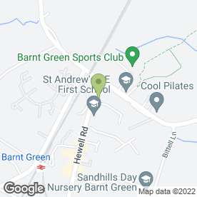 Map of Magic Moments Childcare Ltd in Barnt Green, Birmingham, west midlands