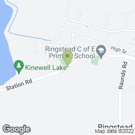 Map of Bayleaf Indian Cuisine in Ringstead, Kettering, northamptonshire