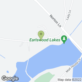 Map of Rainbow Ribbons & Crafts in Earlswood, Solihull, west midlands