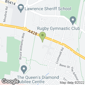 Map of Whitehall Pre-School in Rugby, warwickshire