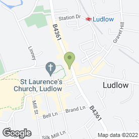 Map of Mackenzie & Smith in Ludlow, shropshire