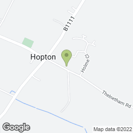 Map of Hopton Primary School in Hopton, Diss, norfolk