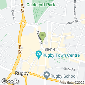 Map of Swinton Home Insurance - Rugby in Rugby, warwickshire
