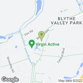 Map of Blythe Valley Business Park in Solihull, west midlands