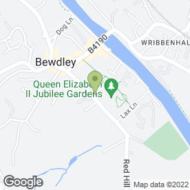 Map of Abacus Hair Studio in Bewdley, worcestershire