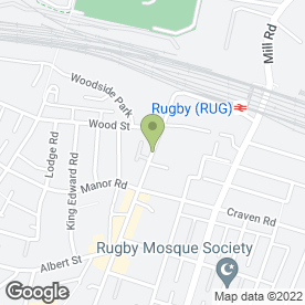 Map of FISH TANK RUGBY LTD in Rugby, warwickshire