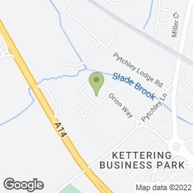 Map of Metro Storage (Kettering) Ltd in Kettering Business Park, Kettering, northamptonshire