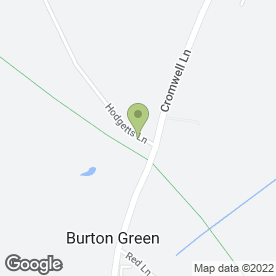 Map of Heartwood Tree Surgeons Ltd in Burton Green, Kenilworth, warwickshire