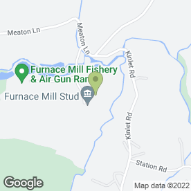 Map of Furnace Mill Fishery in Rock, Kidderminster, worcestershire