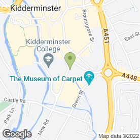 Map of A & M Bewdley Care Service in Kidderminster, worcestershire
