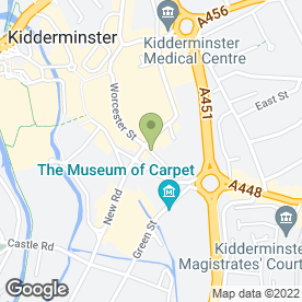 Map of The Best Copy Shop in Kidderminster, worcestershire