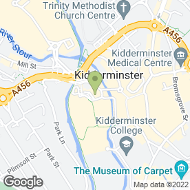 Map of Angelina's Hair & Beauty in Kidderminster, worcestershire
