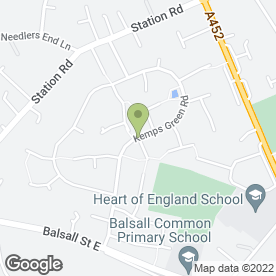 Map of Tis (Midlands) Ltd in Balsall Common, Coventry, west midlands