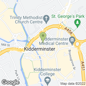 Map of Digital Direct Aerials - Kidderminster in Kidderminster, worcestershire
