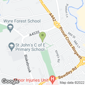 Map of Ray Goodwin Plant Hire in Kidderminster, worcestershire