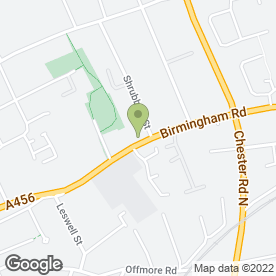 Map of HOWL ASSOCIATES in Kidderminster, worcestershire
