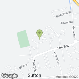 Map of DeVal Bathrooms Ltd in Sutton, Ely, cambridgeshire