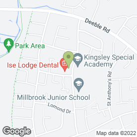 Map of Rhymetime Nursery in Kettering, northamptonshire