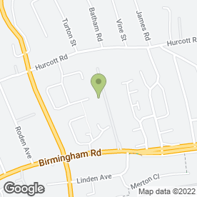 Map of mfg Solicitors LLP in Kidderminster, worcestershire