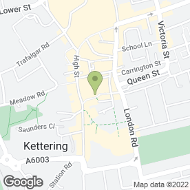 Map of Total Balance in Kettering, northamptonshire