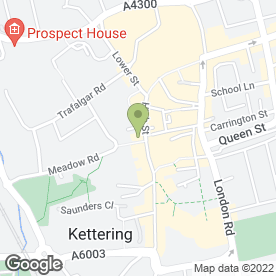 Map of Totan Jewellers in Kettering, northamptonshire
