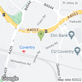 Map of Central Chiropractic Clinic in Coventry, west midlands