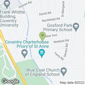 Map of Celebration Ceramics in Coventry, west midlands
