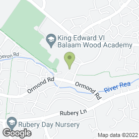 Map of Bhandal Dental Practice in Birmingham, west midlands
