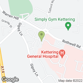 Map of Windermere Day Nursery in Kettering, northamptonshire