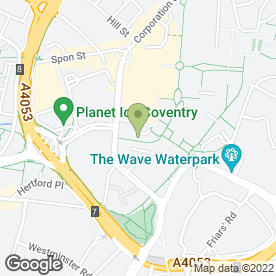 Map of BODYFUEL OFF LICENCE in Coventry, west midlands