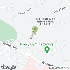 Map of Kitchen Tailor Ltd in Telford Way Industrial Estate, Kettering, northamptonshire