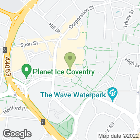 Map of Ben N Zaks Supafresh Florist in Coventry, west midlands