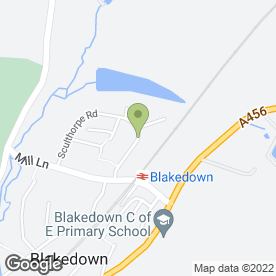 Map of Your Choice in Blakedown, Kidderminster, worcestershire