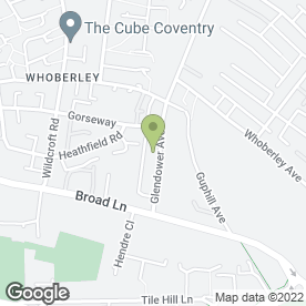 Map of C Hardy Carpets in Coventry, west midlands